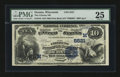 National Bank Notes:Wisconsin, Oconto, WI - $10 1882 Date Back Fr. 545 The Citizens NB Ch. # (M)5521. ...