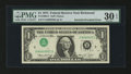 Error Notes:Inverted Third Printings, Fr. 1908-E $1 1974 Federal Reserve Note. PMG Very Fine 30 EPQ.. ...