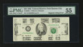 Error Notes:Missing Magnetic Ink, Fr. 2080-J $20 1993 Federal Reserve Note. PMG About Uncirculated55.. ...
