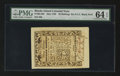 Colonial Notes:Rhode Island, Rhode Island May 1786 30s PMG Choice Uncirculated 64 EPQ....