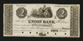 Canadian Currency: , Montreal, PQ- Union Bank $2 Ch. 725-10-04. ...