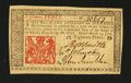 Colonial Notes:New Jersey, New Jersey March 25, 1776 18d Extremely Fine-About New....