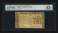 Colonial Notes:Maryland, Maryland April 10, 1774 $2/3 PMG Choice Extremely Fine 45 EPQ....