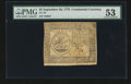 Colonial Notes:Continental Congress Issues, Continental Currency September 26, 1778 $5 PMG About Uncirculated53....