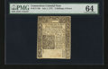 Colonial Notes:Connecticut, Connecticut July 1, 1775 2s6d PMG Choice Uncirculated 64....