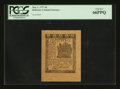 Colonial Notes:Delaware, Delaware May 1, 1777 3d PCGS Gem New 66PPQ....