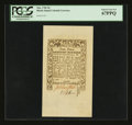 Colonial Notes:Rhode Island, Rhode Island May 1786 9d PCGS Superb Gem New 67PPQ....