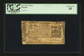 Colonial Notes:Maryland, Maryland April 10, 1774 $1/6 PCGS Extremely Fine 45....