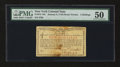 Colonial Notes:New York, New York January 6, 1776 (Water Works) 2s PMG About Uncirculated50....