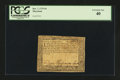 Colonial Notes:Maryland, Maryland December 7, 1775 $4 PCGS Extremely Fine 40....