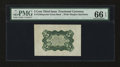 Fractional Currency:Third Issue, Fr. 1238spwmb 5¢ Third Issue PMG Gem Uncirculated 66 EPQ....