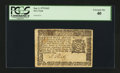 Colonial Notes:New York, New York September 2, 1775 $1/2 PCGS Extremely Fine 40....
