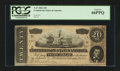 Confederate Notes:1864 Issues, T67 PF-14 $20 1864.. ...