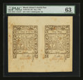 Colonial Notes:Rhode Island, Rhode Island May 1786 2s/6d-9d PMG Choice Uncirculated 63....