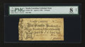 Colonial Notes:North Carolina, North Carolina April 4, 1748 £3 PMG Very Good 8 Net....