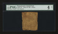 Colonial Notes:Pennsylvania, Pennsylvania March 10, 1769 9d PMG Good 4 Net....