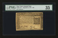Colonial Notes:New York, New York September 2, 1775 $10 PMG Choice Very Fine 35....