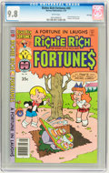 Bronze Age (1970-1979):Humor, Richie Rich Fortunes #45 and 47-49 File Copy CGC Group (Harvey,1979) CGC NM/MT 9.8 White pages.... (Total: 4 Comic Books)
