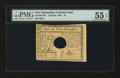 Colonial Notes:New Hampshire, New Hampshire April 29, 1780 $2 PMG About Uncirculated 55 EPQ....