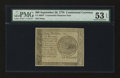 Colonial Notes:Continental Congress Issues, Continental Currency September 26, 1778 $60 Counterfeit DetectorPMG About Uncirculated 53 EPQ....