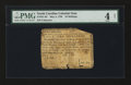 Colonial Notes:North Carolina, North Carolina May 4, 1758 10s PMG Good 4 Net....