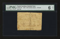 Colonial Notes:North Carolina, North Carolina 1756 - 1757 (written dates) £5 PMG Good 6 Net.. ...