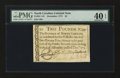 Colonial Notes:North Carolina, North Carolina December, 1771 £2 PMG Extremely Fine 40 EPQ....