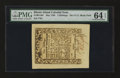 Colonial Notes:Rhode Island, Rhode Island May 1786 5s PMG Choice Uncirculated 64 EPQ....
