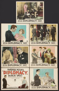 """Movie Posters:Mystery, Diplomacy (Paramount, 1926). Title Lobby Card & Lobby Cards (6) (11"""" X 14""""). Mystery.. ... (Total: 7 Items)"""