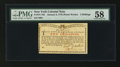 Colonial Notes:New York, New York January 6, 1776 (Water Works) 2s PMG Choice About Unc58....