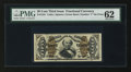 Fractional Currency:Third Issue, Fr. 1341 50¢ Third Issue Spinner Type II PMG Uncirculated 62....