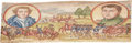 Books:Non-fiction, [Fore-edge Painting]. William Napier. English Battles and Siegesin the Peninsula. London: John Murray, 1873.. ...