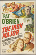 """Movie Posters:Sports, The Iron Major (RKO, 1943). One Sheet (27"""" X 41""""). Sports.. ..."""