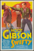 """Movie Posters:Western, Swifty (Diversion Pictures, 1936). One Sheet (27"""" X 41""""). Western....."""