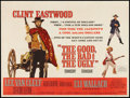 "Movie Posters:Western, The Good, the Bad and the Ugly (United Artists, 1968). British Quad(30"" X 40""). Western.. ..."
