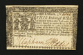 Colonial Notes:Maryland, Maryland April 10, 1774 $8 Extremely Fine-About New.. ...
