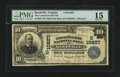 National Bank Notes:Virginia, Reedville, VA - $10 1902 Plain Back Fr. 632 The Commonwealth NB Ch.# (S)10827. ...