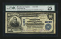 National Bank Notes:Virginia, Brookneal, VA - $10 1902 Plain Back Fr. 633 The Peoples NB Ch. #11960. ...