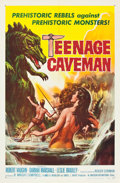"Movie Posters:Science Fiction, Teenage Caveman (American International, 1958). One Sheet (27"" X41"").. ..."