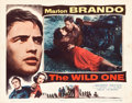 "Movie Posters:Drama, The Wild One (Columbia, 1953). Lobby Card (11"" X 14"").. ..."