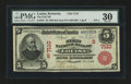 National Bank Notes:Kentucky, Louisa, KY - $5 1902 Red Seal Fr. 587 The First NB Ch. # (S)7110....