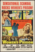 "Movie Posters:Bad Girl, Women's Prison (Columbia, 1954). One Sheet (27"" X 41""). Bad Girl....."