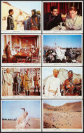 """Movie Posters:Academy Award Winners, Lawrence of Arabia (Columbia, R-1971). British Front of House Photo Set of 8 (8"""" X 10""""). Academy Award Winners.. ... (Total: 8 Items)"""