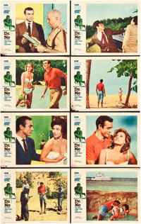 """Dr. No (United Artists, 1962). Lobby Card Set of 8 (11"""" X 14""""). ... (Total: 8 Items)"""