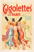 "Movie Posters:Drama, Gigolettes of Paris (Majestic, 1933). One Sheet (27"" X 41"").. ..."