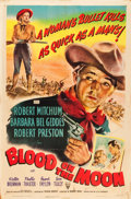 "Movie Posters:Western, Blood on the Moon (RKO, 1948). One Sheet (27"" X 41"").. ..."