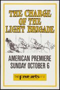 "Movie Posters:War, The Charge of the Light Brigade (United Artists, 1968). New YorkOne Sheet (27"" X 41"") Advance. War.. ..."