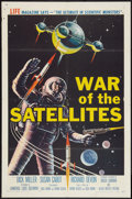"Movie Posters:Science Fiction, War of the Satellites (Allied Artists, 1958). One Sheet (27"" X41""). Science Fiction.. ..."