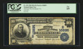 National Bank Notes:Virginia, Brookneal, VA - $10 1902 Plain Back Fr. 632 The First NB Ch. #(S)10835. ...