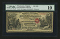 National Bank Notes:Virginia, Winchester, VA - $5 Original Fr. 397 The Shenandoah Valley NB Ch. #1635. ...